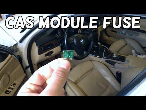 CAR ACCESS MODULE FUSE CAS FUSE BMW E90 E91 E92 E93 - YouTube