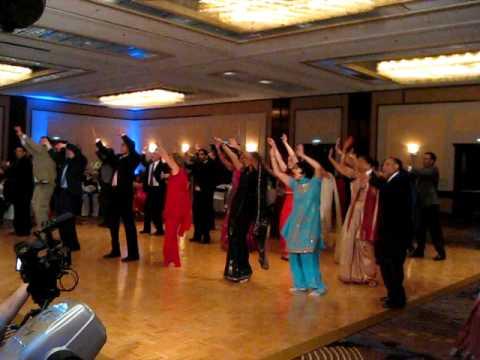 OSO Dance for Preeti & Neil's Wedding Reception!