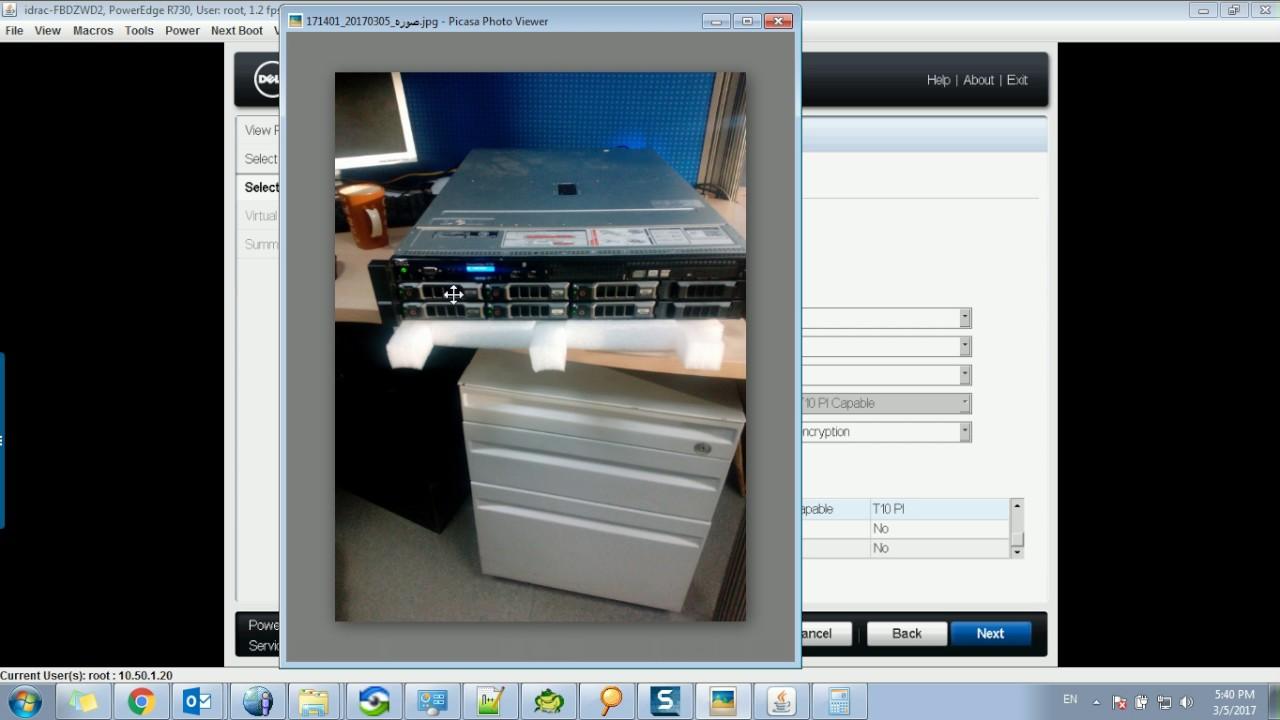 Configure RAID Controller on Dell Power Edge R730