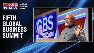 """Namumkeen ab mumkeen hai"" in New India, Says PM Modi at the Global Business Summit 2019"