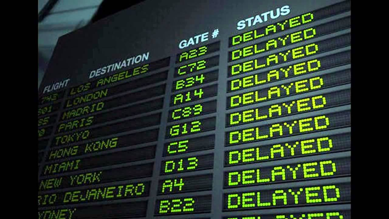 flight delay Information on what to do when your flight is delayed or cancelled.