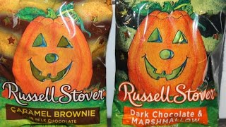 Russell Stover: Caramel Brownie And Dark Chocolate & Marshmallow Chocolate Review