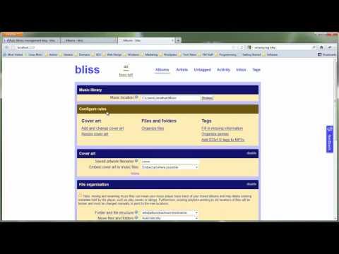 BLISS Digital Music Organiser