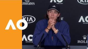 "Garbiñe Muguruza: ""It's a great start to the year"" 