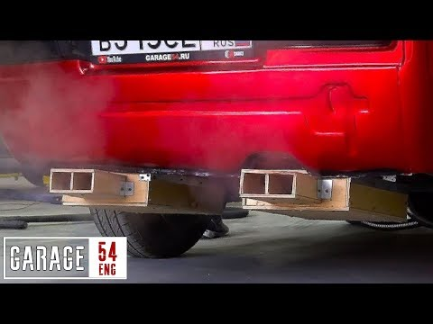 Making An Exhaust System Out Of Wood