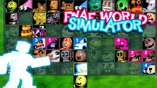 WE GOT ANIMDUDE FNAF World Simulator