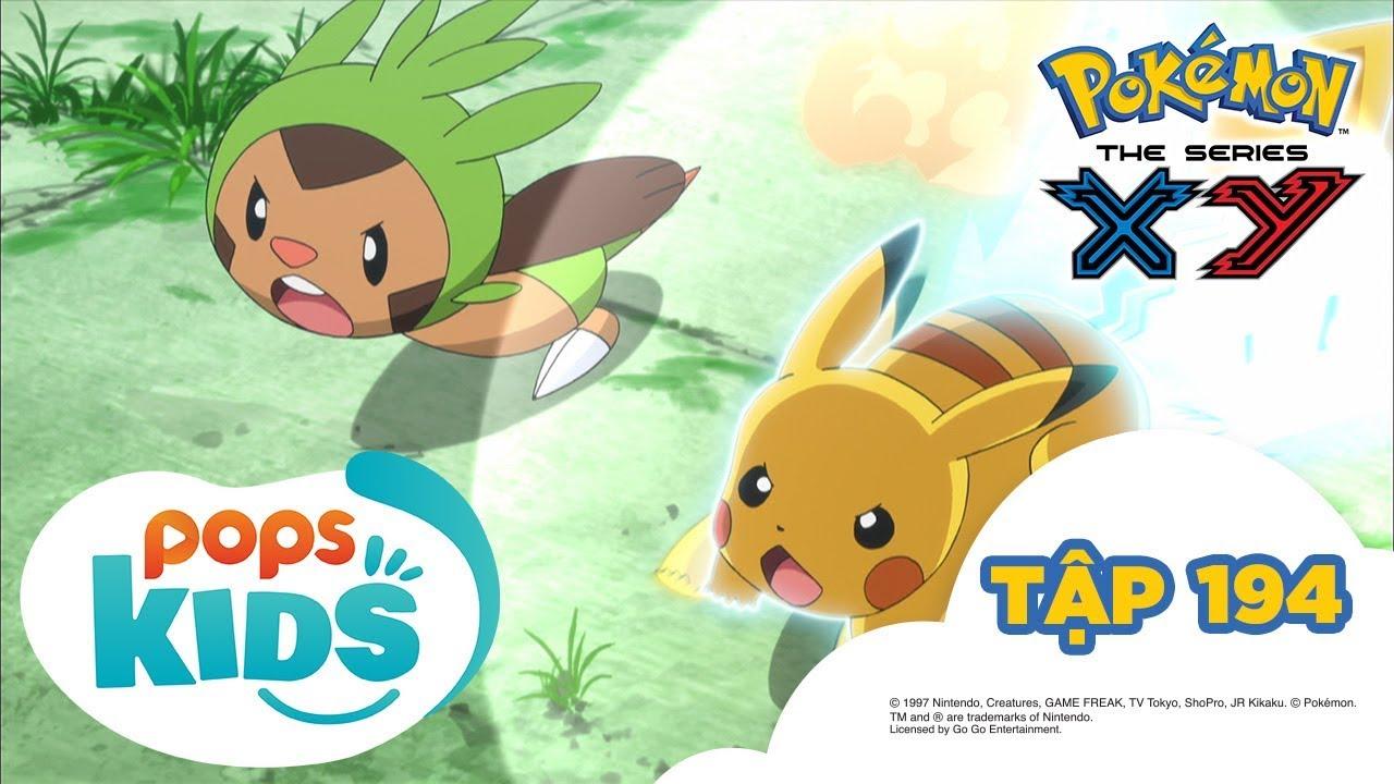 Pokémon Tập 194 – Harimaron Đấu Với Mega Mega Nyasu  – Hoạt Hình Tiếng Việt Pokémon S17 XY