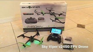 Sky Viper v2450 FPV Drone
