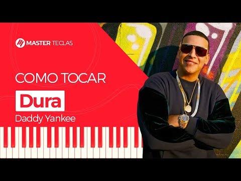 💎 Dura - Daddy Yankee  Piano Tutorial - Master Teclas 💎