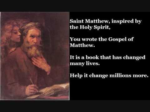 Saint Matthew the Evangelist, Apostle (September 21)