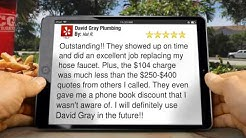 David Gray Plumbing Jacksonville          Impressive           Five Star Review by Hal R.