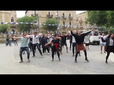 Flashmob In Jerusalem \u0026 Israel Participants Talk BA
