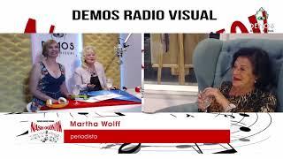 Anatolij Nemov y Martha Wolf en NASH OGONIOK con Lilya Barinova y Nonna Fomina -  15 de Abril 04