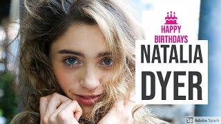 Natalia Dyer Birthday Celebration Video HBD | Stranger Things Netflix