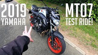 2019 Yamaha MT07 | Test Ride Review