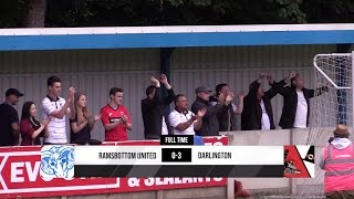Ramsbottom United 0-3 Darlington - Evo-Stik Premier Division - 2015/16
