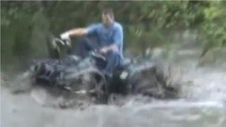 vitaliy  ATV 4x4 driving through water  HDVZ