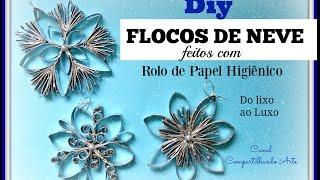 ENFEITE PARA ARVORE DE NATAL – 3 FLOCOS DE NEVE – Frozen snowflakes