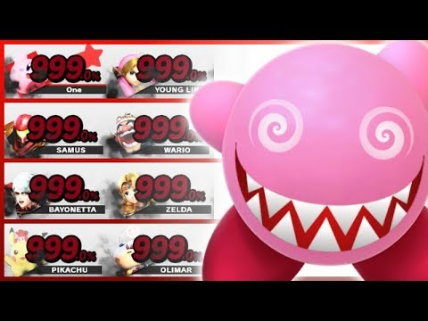 8 Level 9 Fighters TRAPPED in the Controls Test Stage! - Super Smash Bros. Ultimate thumbnail