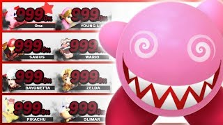 8 Level 9 Fighters TRAPPED in the Controls Test Stage! - Super Smash Bros. Ultimate
