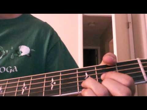Newsboys - Hallelujah For the cross Guitar Instructional Video