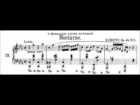 Chopin: Nocturne Op.48 No.1 in C Minor (Moravec)