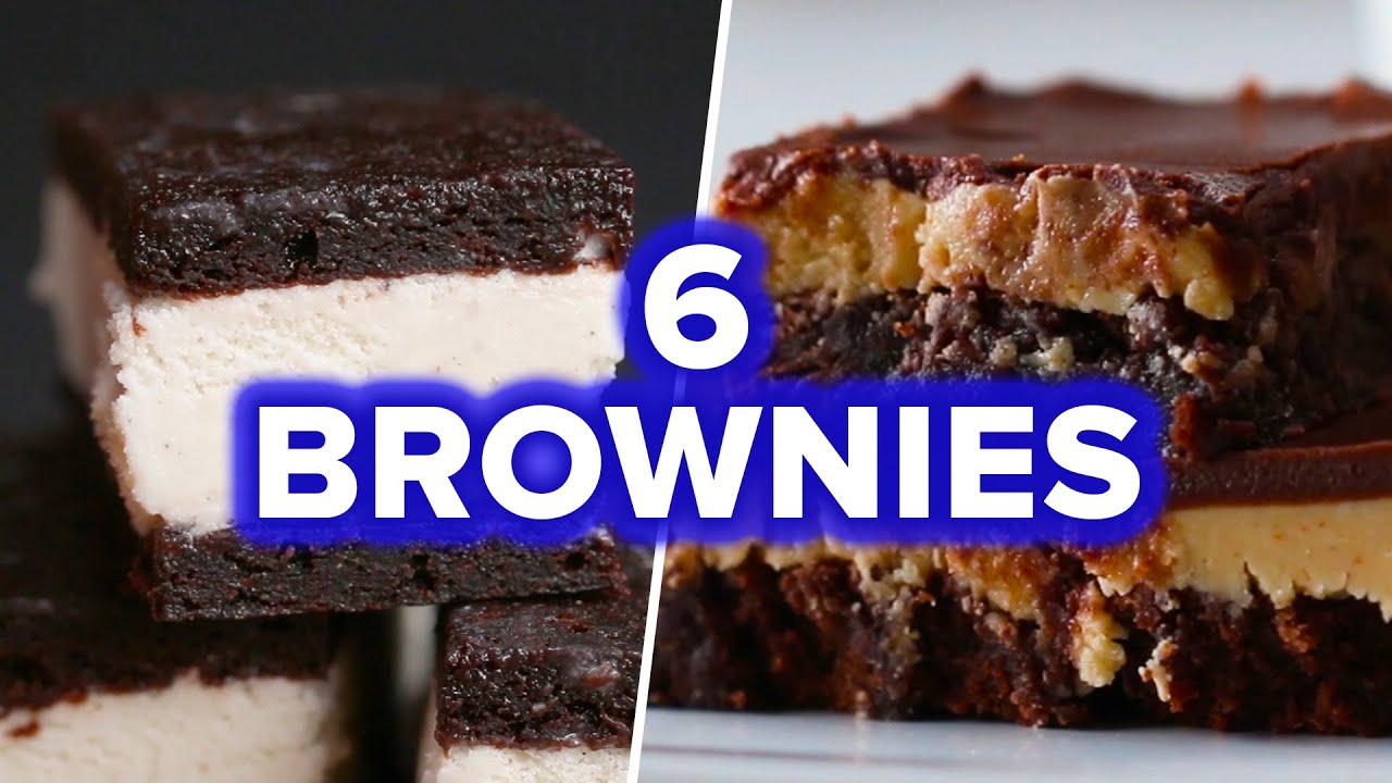 maxresdefault - 6 Creative Brownie Recipes - YouTube