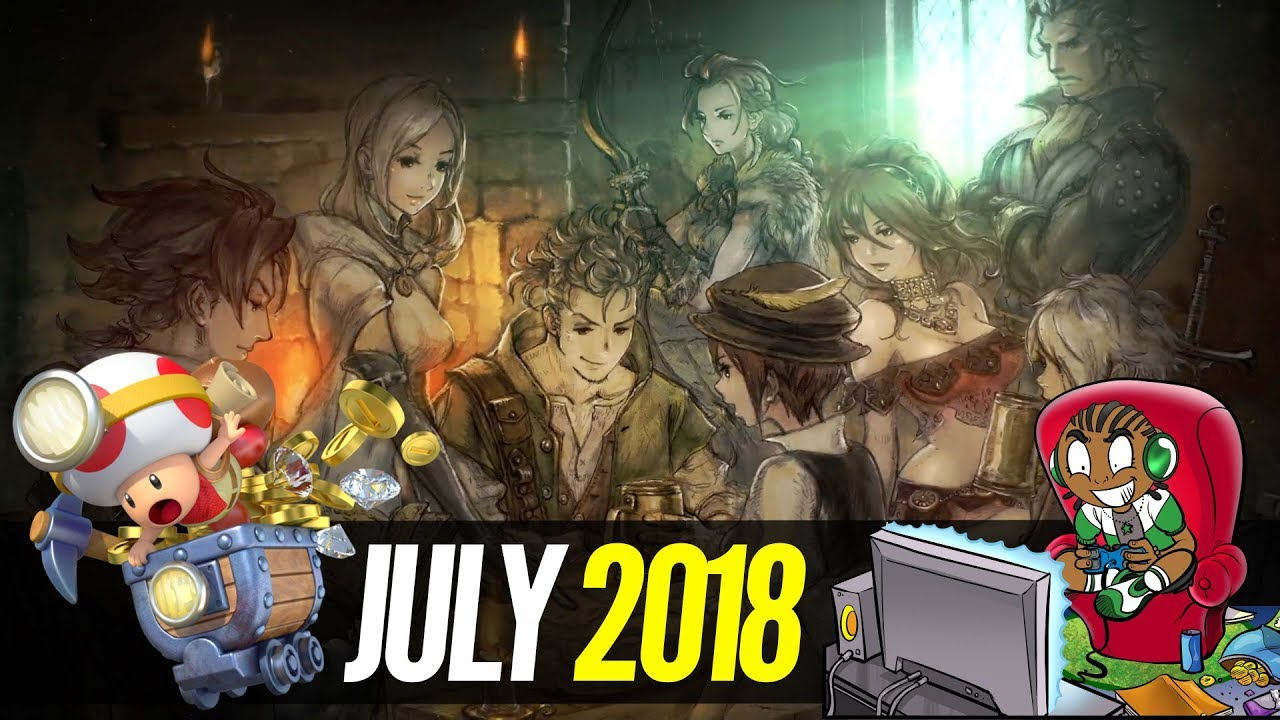 Upcoming Release Game Juli 2018