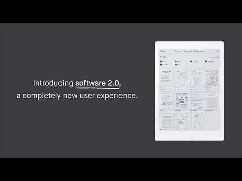 Introducing reMarkable 2.0 software update