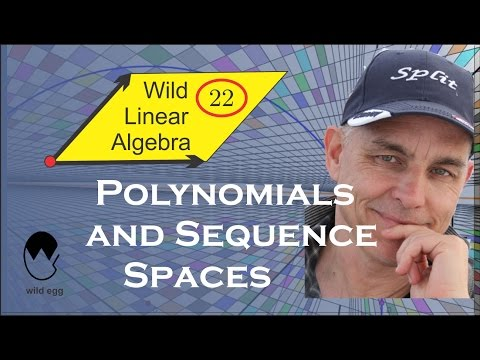 Wild Linear Algebra 22: Polynomials and sequence spaces