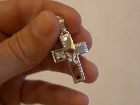 λευκόχρυσος σταυρός Τριάντος (μασίφ 1167)