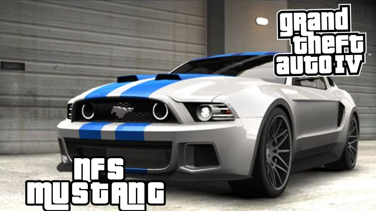 Gta Iv Mods Ford Mustang Gt Need For Speed Movie Youtube
