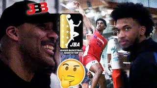 Lavar Ball RECRUITS FOR JBA !? PULLS UP at Josh Christopher Game! Marvin Bagley Watches The Truth!