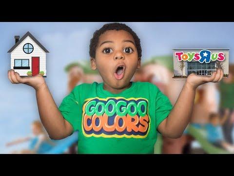 GOO GOO GAGA TURN HOUSE INTO TOYS R US! Learn how to spell Toy