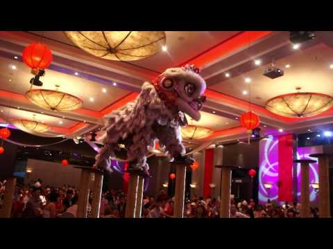 Lion Dance @ Oriental Realty Annual Dinner 2012