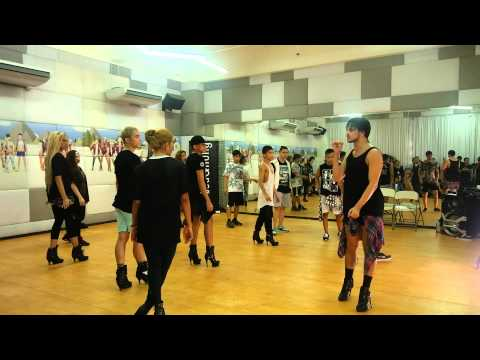 Yanis Marshall Dance Demo with the G-Force