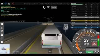 ROBLOX Ultimate Driving: A bus ride to South Beach.