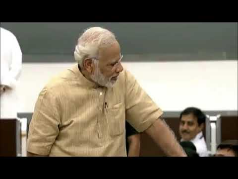 MODi  Interacting  With  MedicaL  Students  in  Gujarat