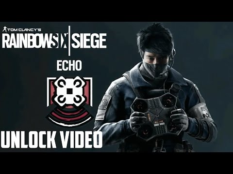 Rainbow Six Siege Echo Skills & Ability Drone Gameplay Speculation Unlock Video Operation Red Crow