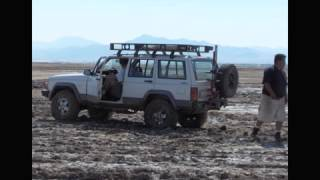 Stuck on Soda Dry Lake