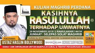 Gambar cover Ustaz Haslin Bollywood  |  Kasihnya Rasulullah S.A.W. Terhadap Umatnya  |  Surau Al-Istiqomah Bangi.