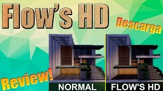 El mejor texture pack para construir - Flow's HD review + Descarga