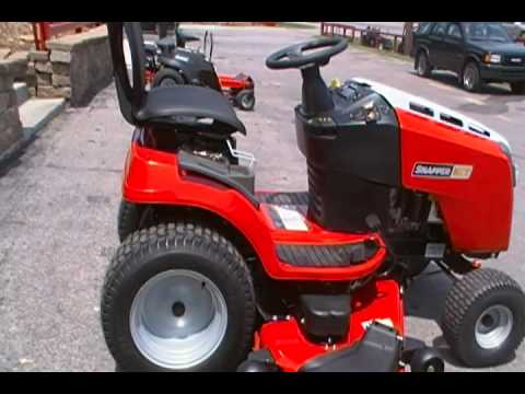 Snapper Riding Lawn Mower At Sleequipment Youtube