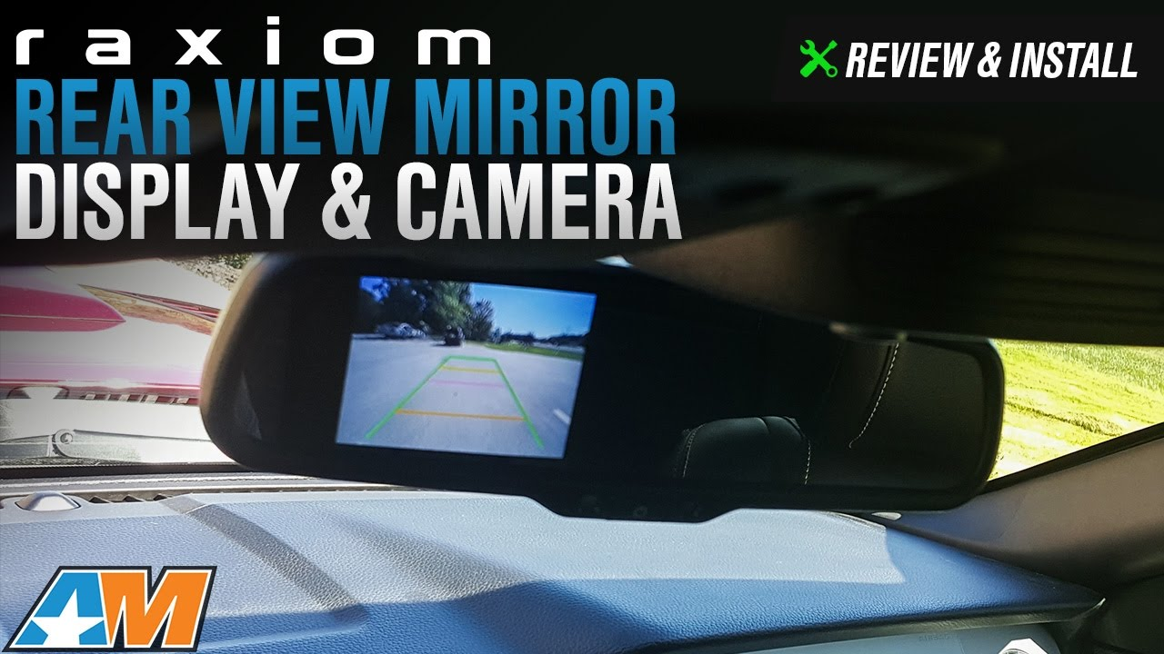 2005 2014 Mustang Raxiom Auto Dimming Rear View Mirror Display And Viper Start Wiring Diagram Camera Review Install
