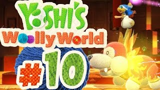 YOSHI'S WOOLLY WORLD # 10 ★ Ein Hot Dog als Boss! [HD   60fps] Let's Play Yoshi's Woolly World