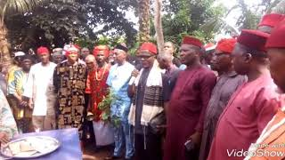 BIAFRA.IPOB CANCIL OF ELDERS SHOT DOWN EKWULOBIA TODAY WITH VERY IMPORTANT MESSAGE