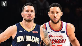 Gambar cover New Orleans Pelicans vs Philadelphia 76ers - Full  Highlights | Dec 13, 2019 | 2019-20 NBA Season