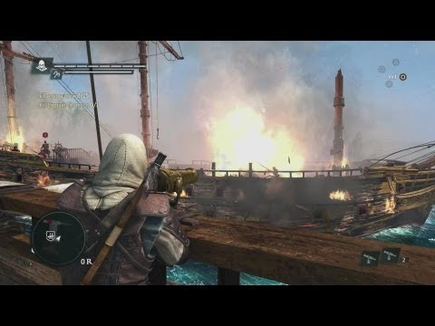 Assassin's Creed IV: Black Flag – Pirate Combat Gameplay Trailer