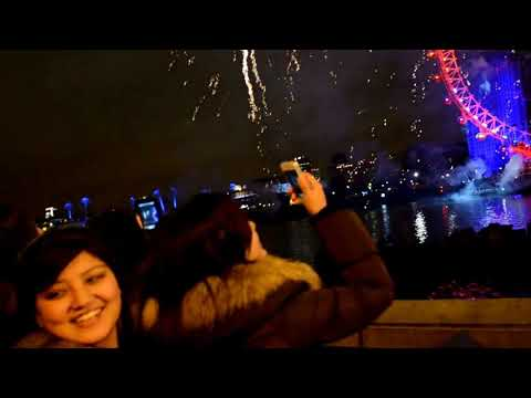 London Fireworks 2013 Full Video