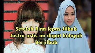 Setelah Rina NOse Lepas Jilbab, 5 Seleb ini justru dapat HIDAYAH untuk Berjilbab, NO 5 bikin terharu